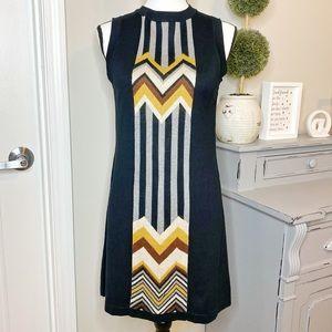 Missoni Target Zig-Zag Sleeveless Sweater Dress